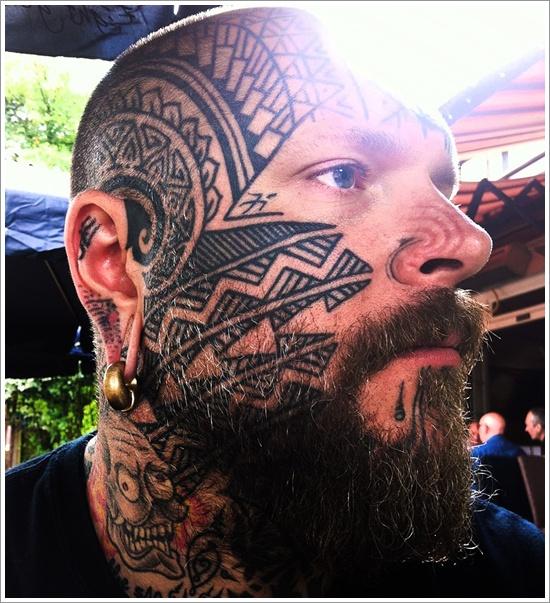 face tattoos photo - 26