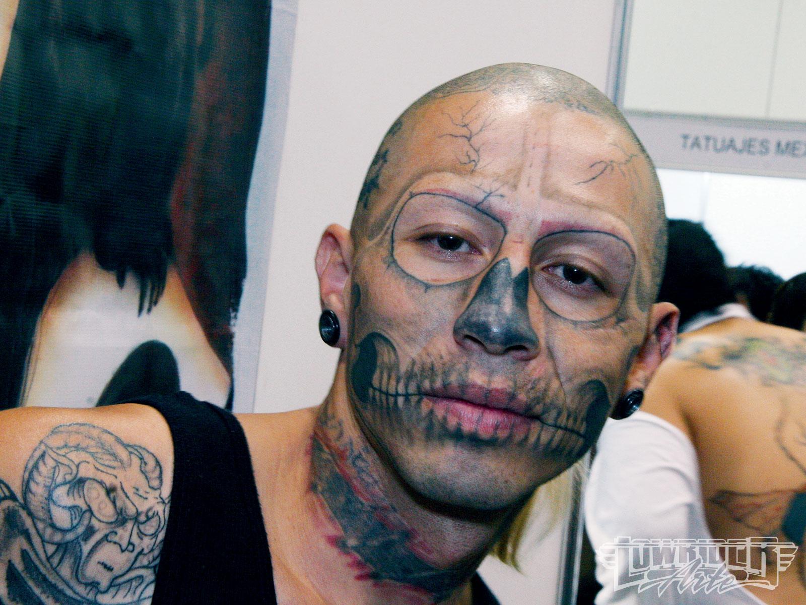 face tattoos photo - 27