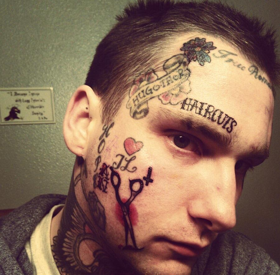 face tattoos photo - 30