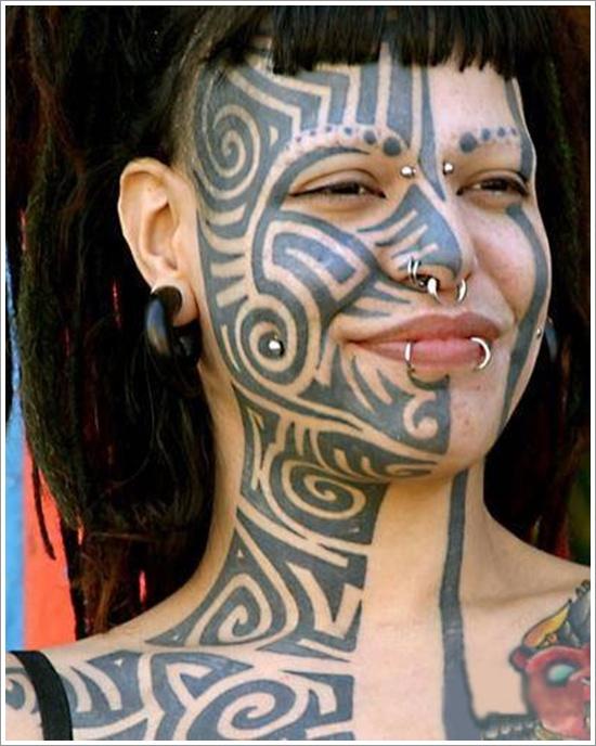 face tattoos photo - 31