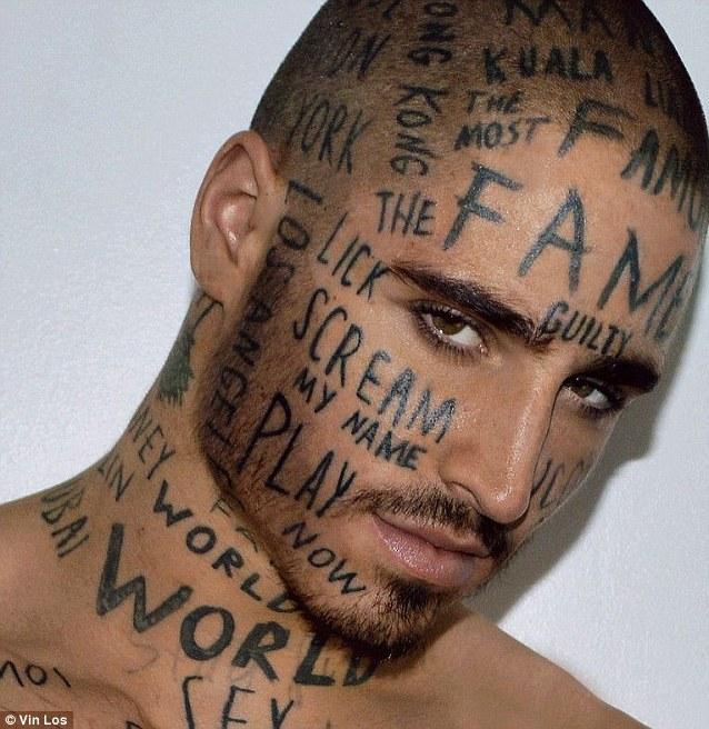 face tattoos photo - 34