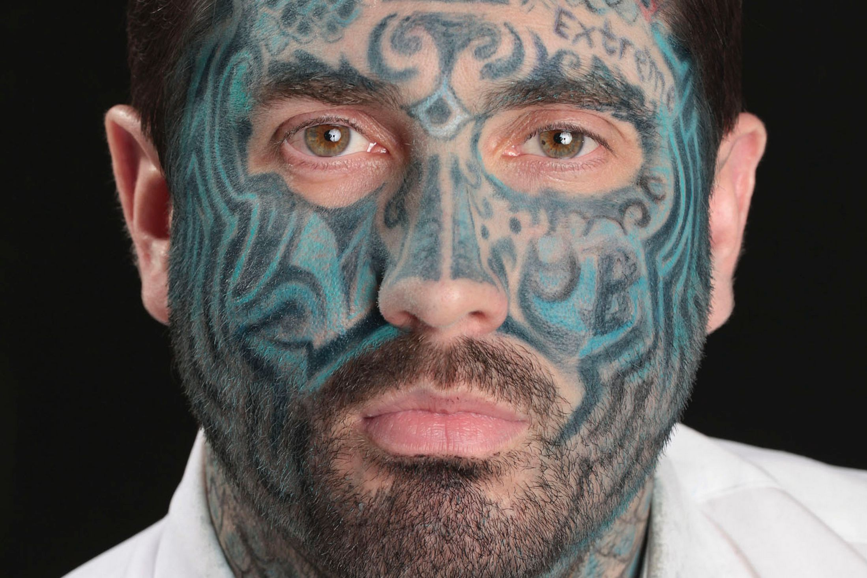 face tattoos photo - 5