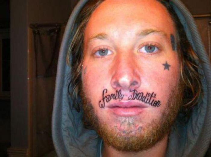 face tattoos photo - 6