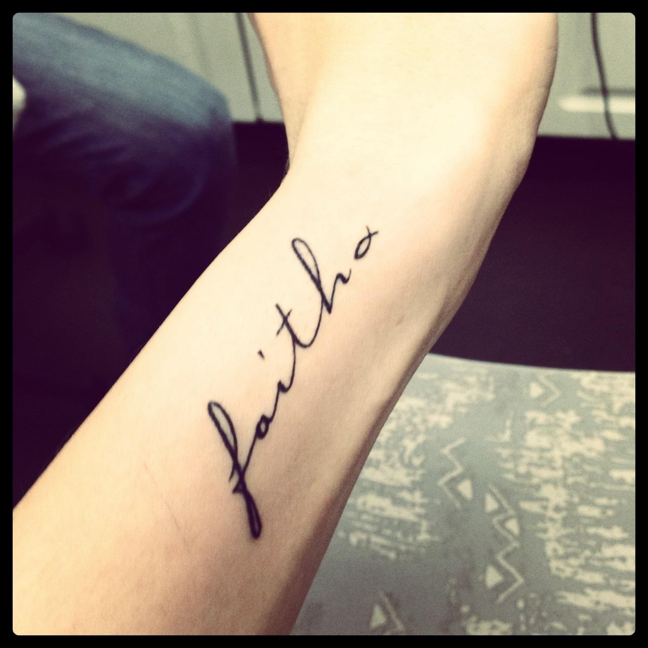 faith tattoos photo - 1