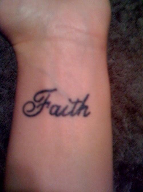 faith tattoos photo - 14