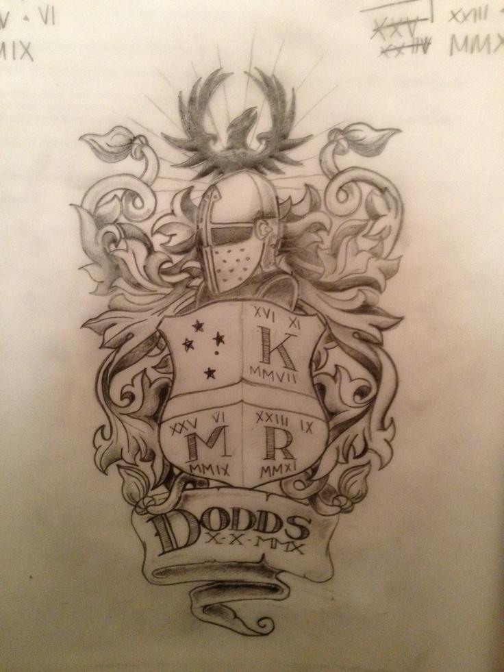family crest tattoos photo - 11