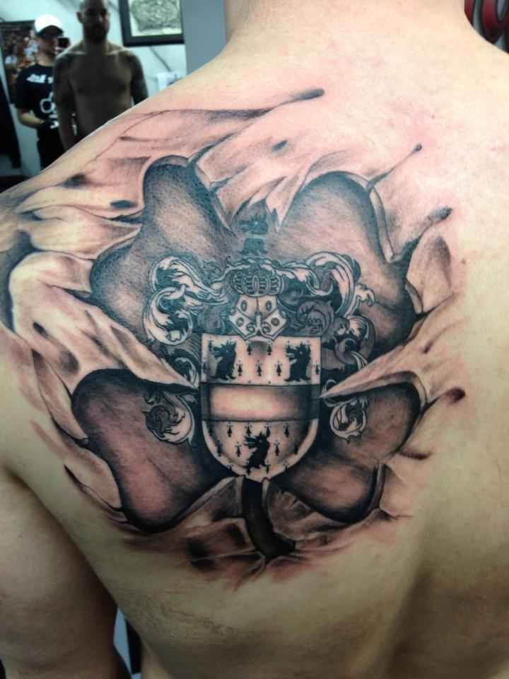 family crest tattoos photo - 12