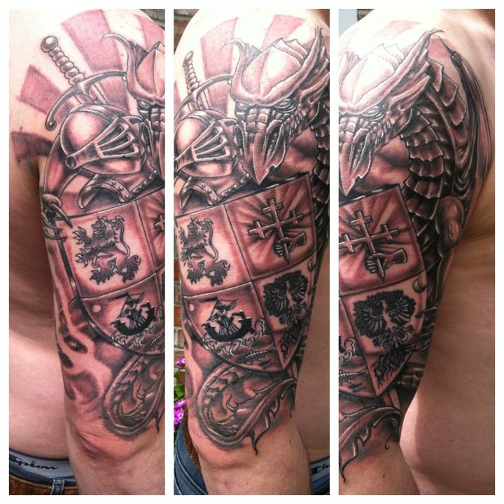 family crest tattoos photo - 13