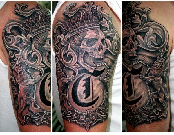 family crest tattoos photo - 14