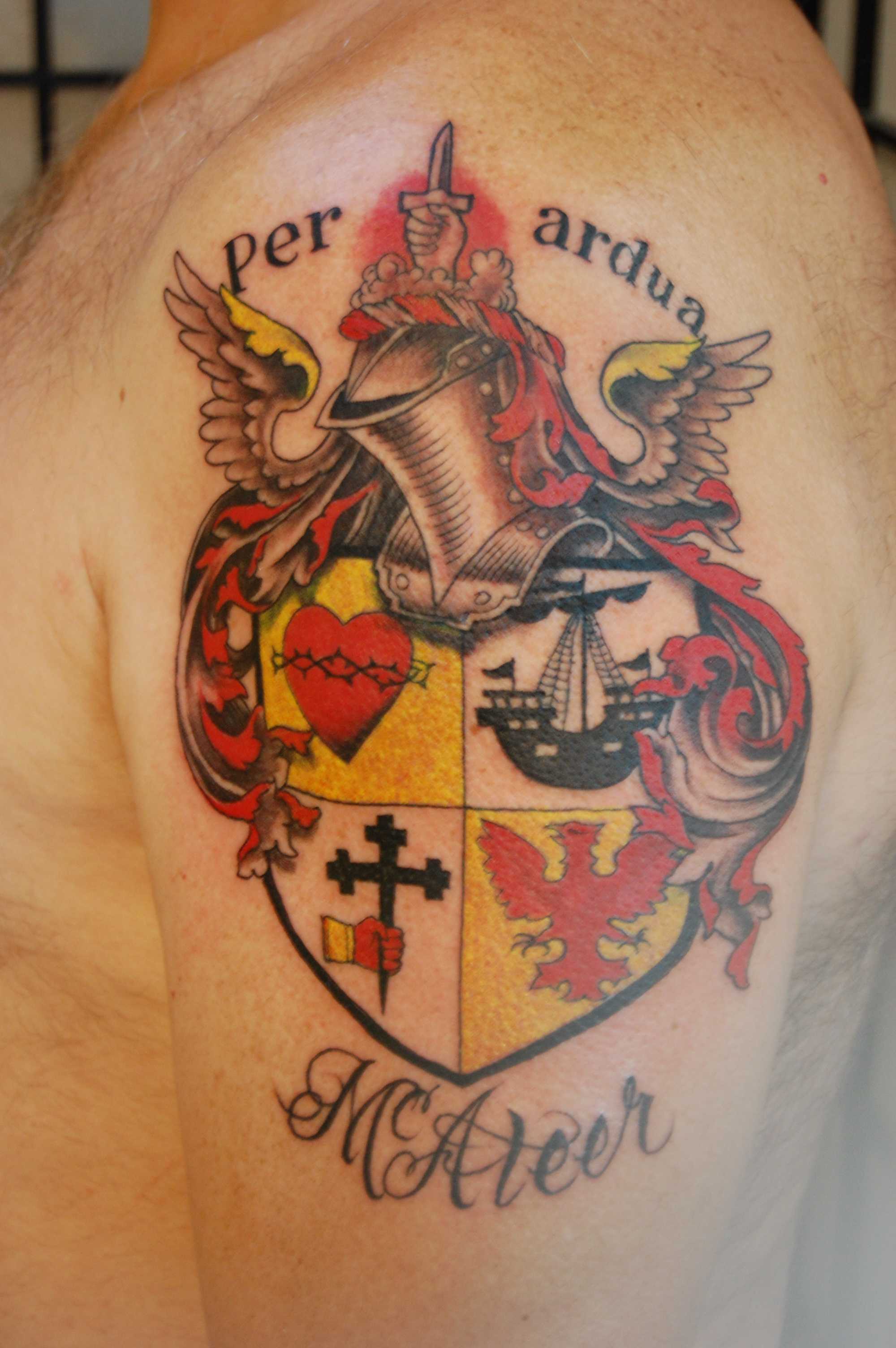 family crest tattoos photo - 15