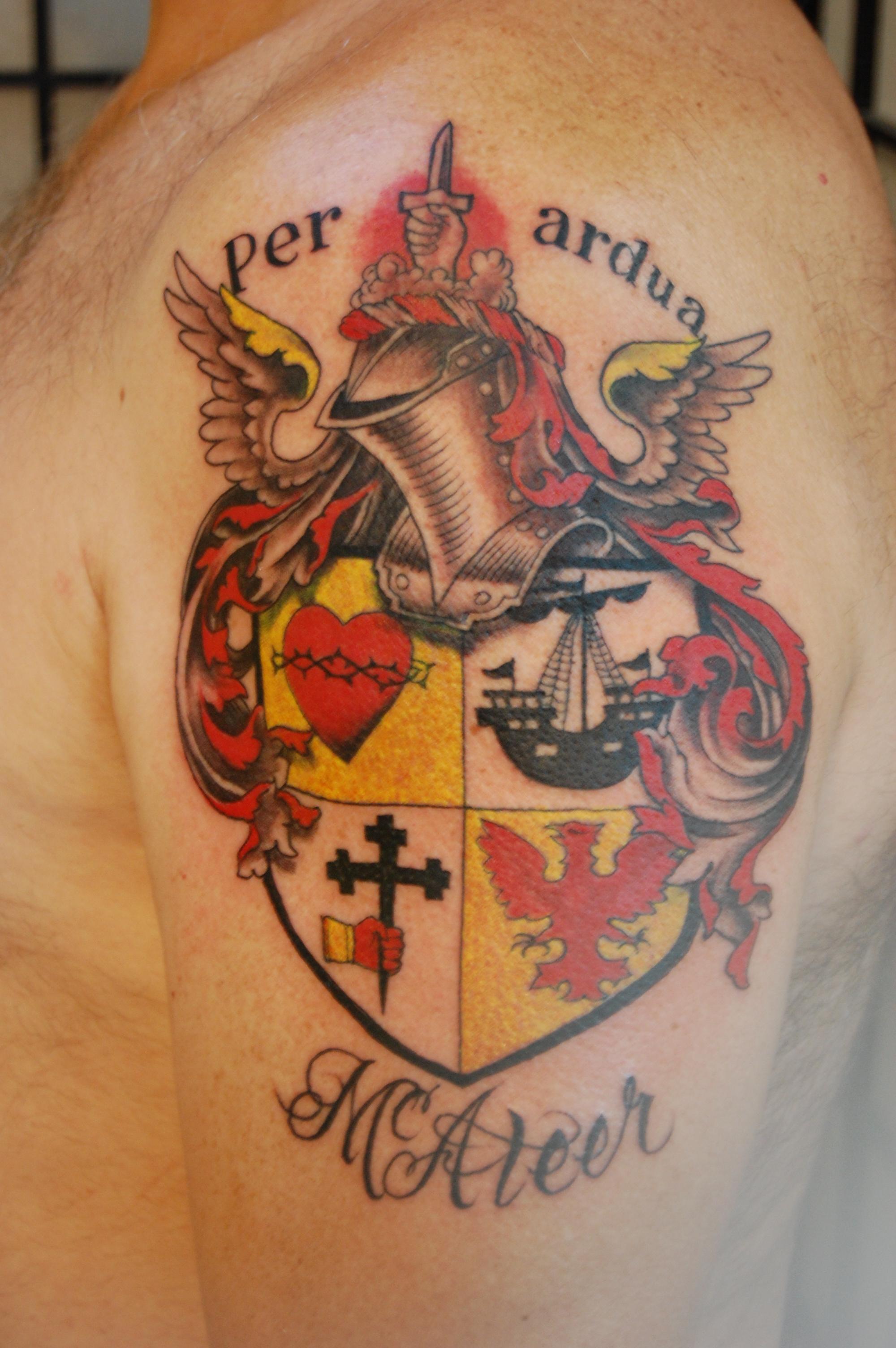 family crest tattoos photo - 15