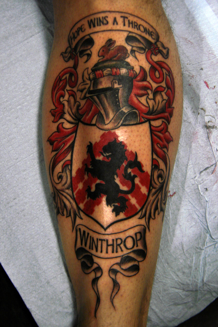 family crest tattoos photo - 16