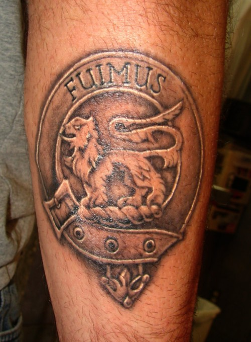 family crest tattoos photo - 18
