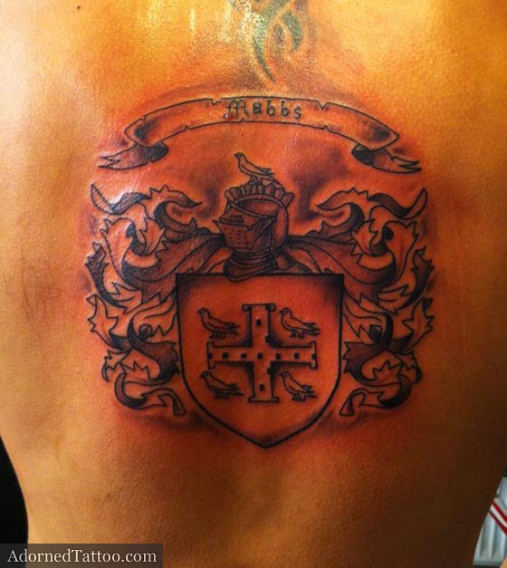family crest tattoos photo - 20