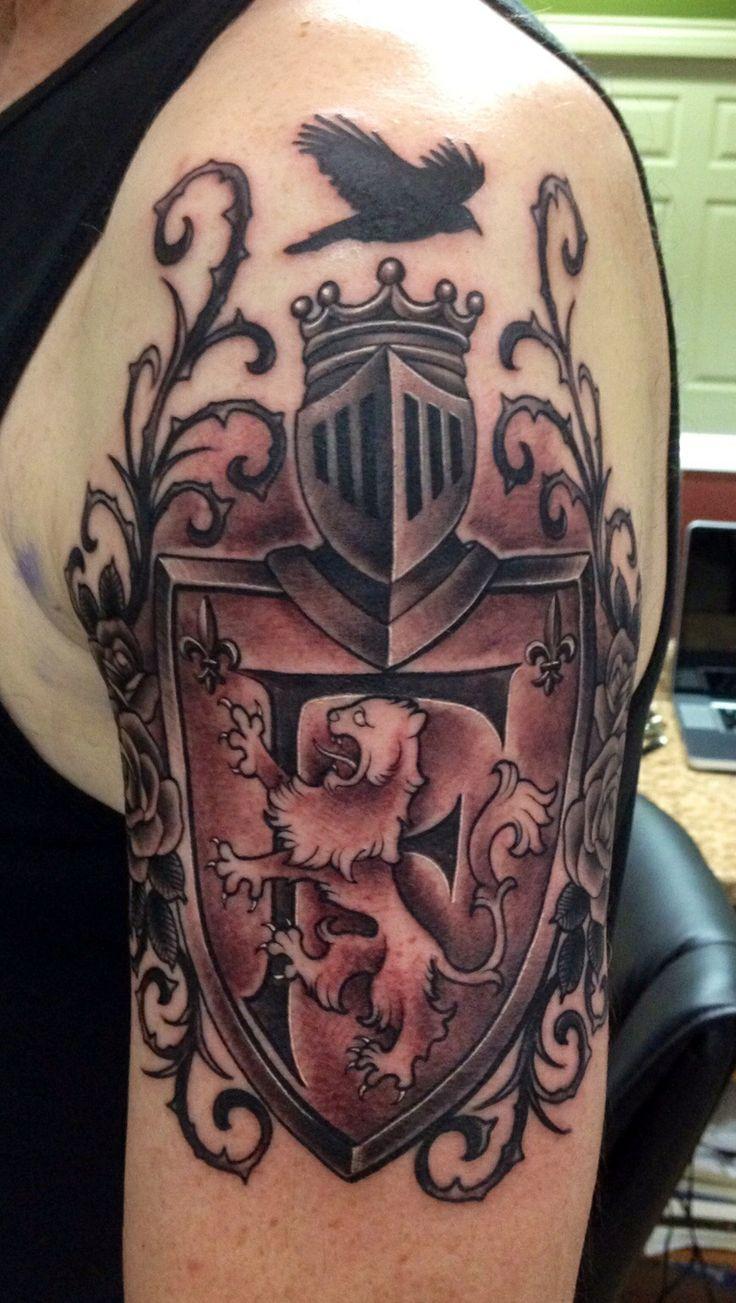 family crest tattoos photo - 22