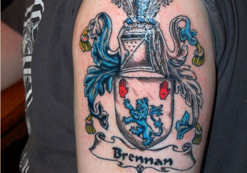 family crest tattoos photo - 27