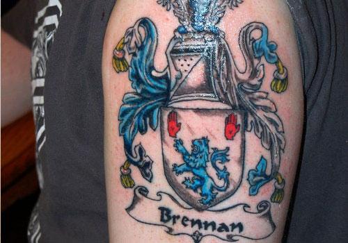 family crest tattoos photo - 27