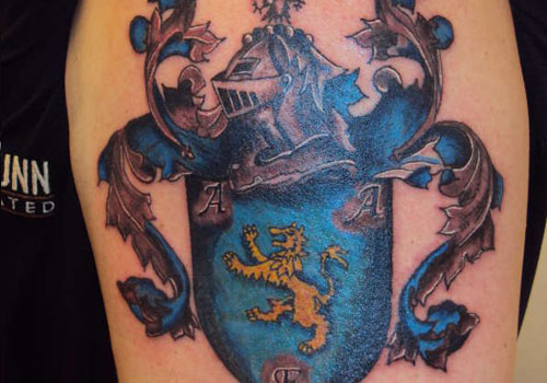 family crest tattoos photo - 29