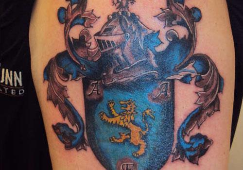 family crest tattoos photo - 29