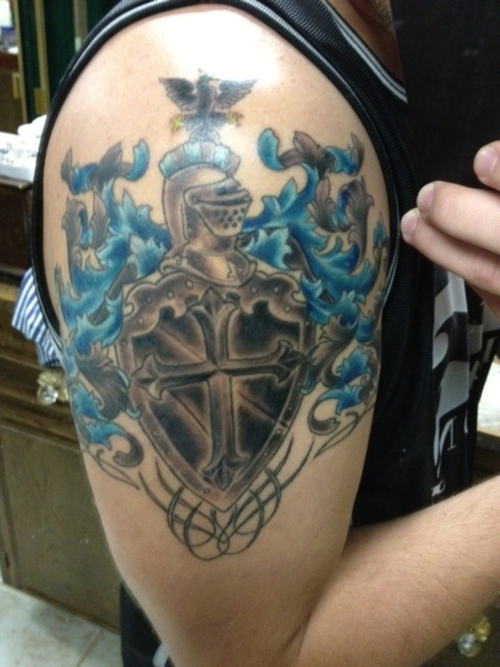 family crest tattoos photo - 3