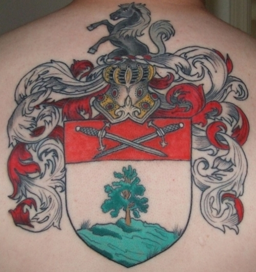 family crest tattoos photo - 33