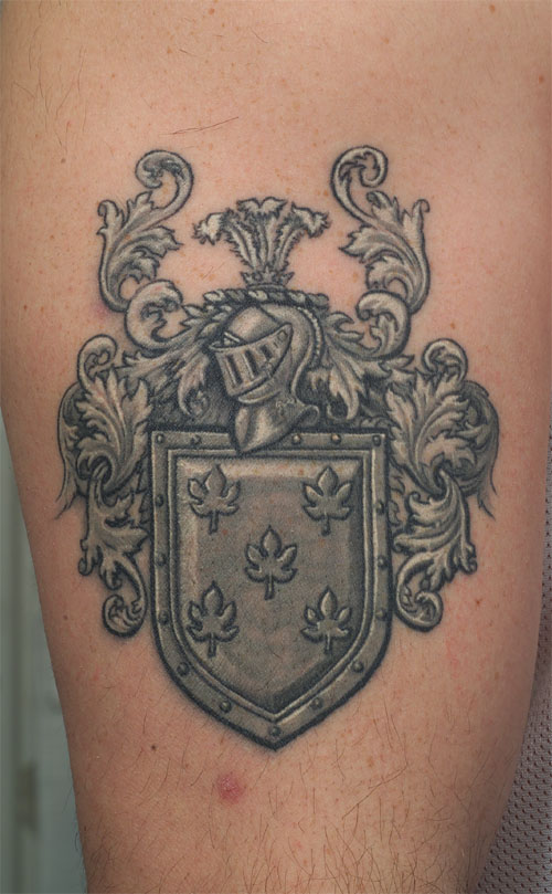 family crest tattoos photo - 37