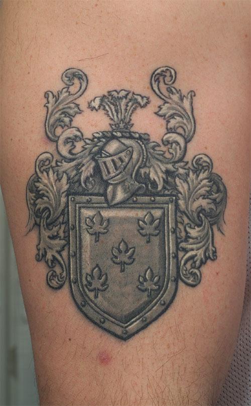 family crest tattoos photo - 37