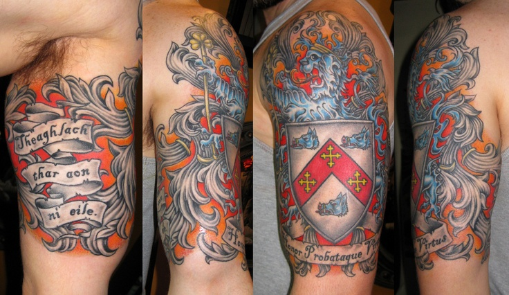 family crest tattoos photo - 6
