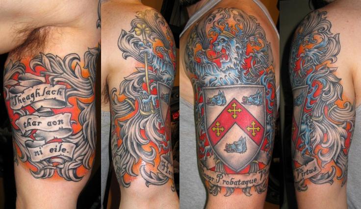 family crest tattoos photo - 6