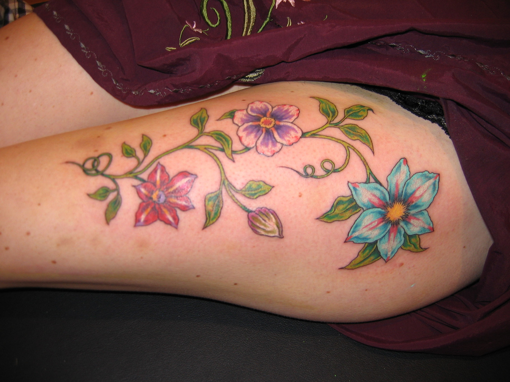 feminine tattoos photo - 1