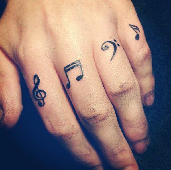 finger tattoos photo - 2