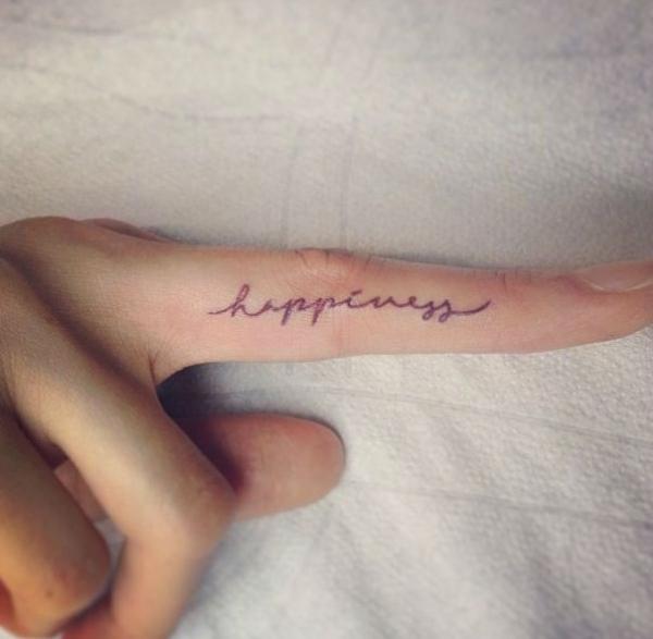 finger tattoos photo - 20