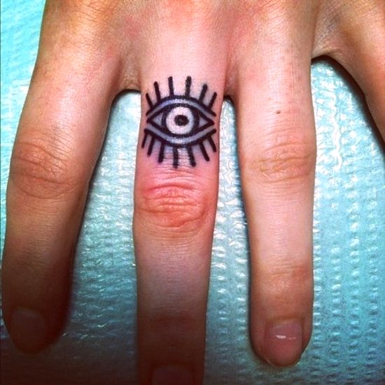 finger tattoos photo - 27