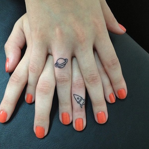 finger tattoos photo - 3