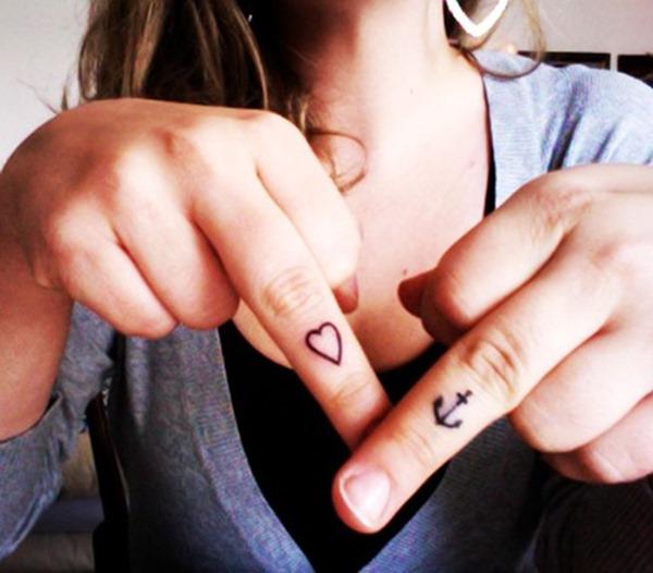 finger tattoos photo - 38