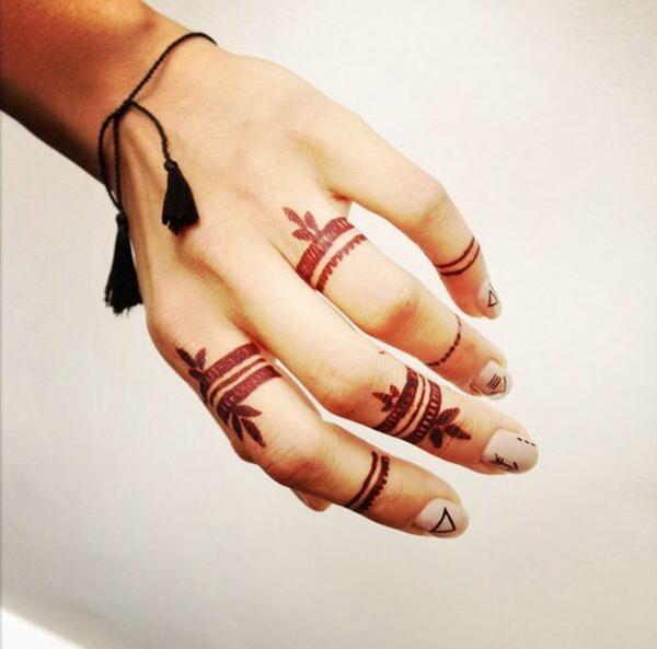 finger tattoos photo - 39