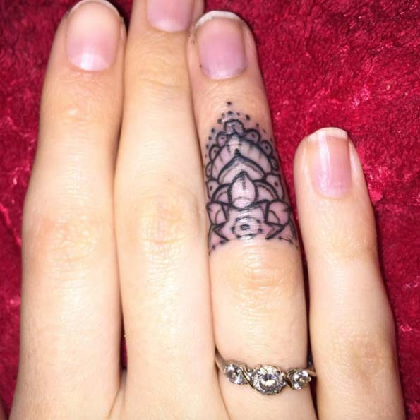 finger tattoos photo - 41