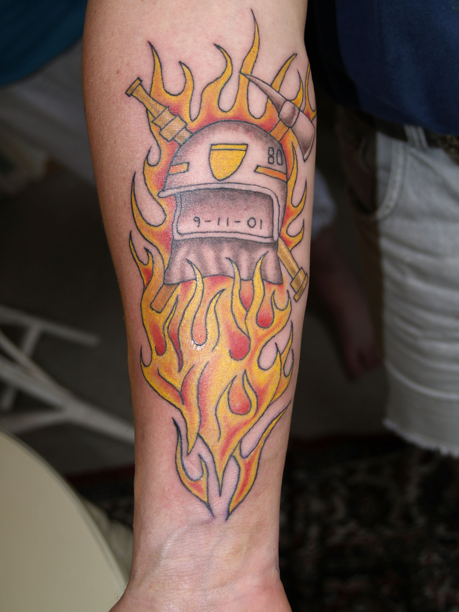 firefighter tattoos photo - 1
