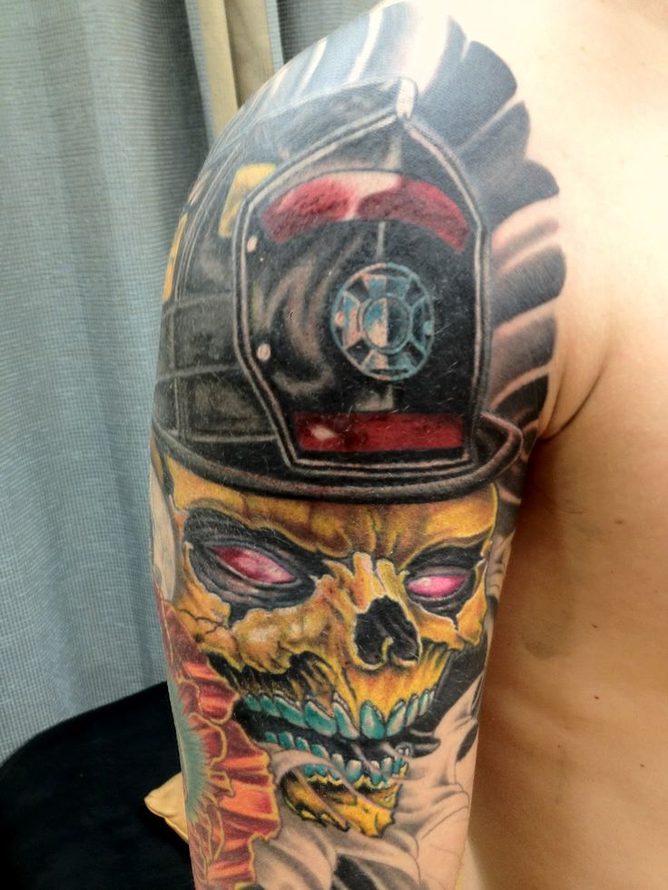 firefighter tattoos photo - 10