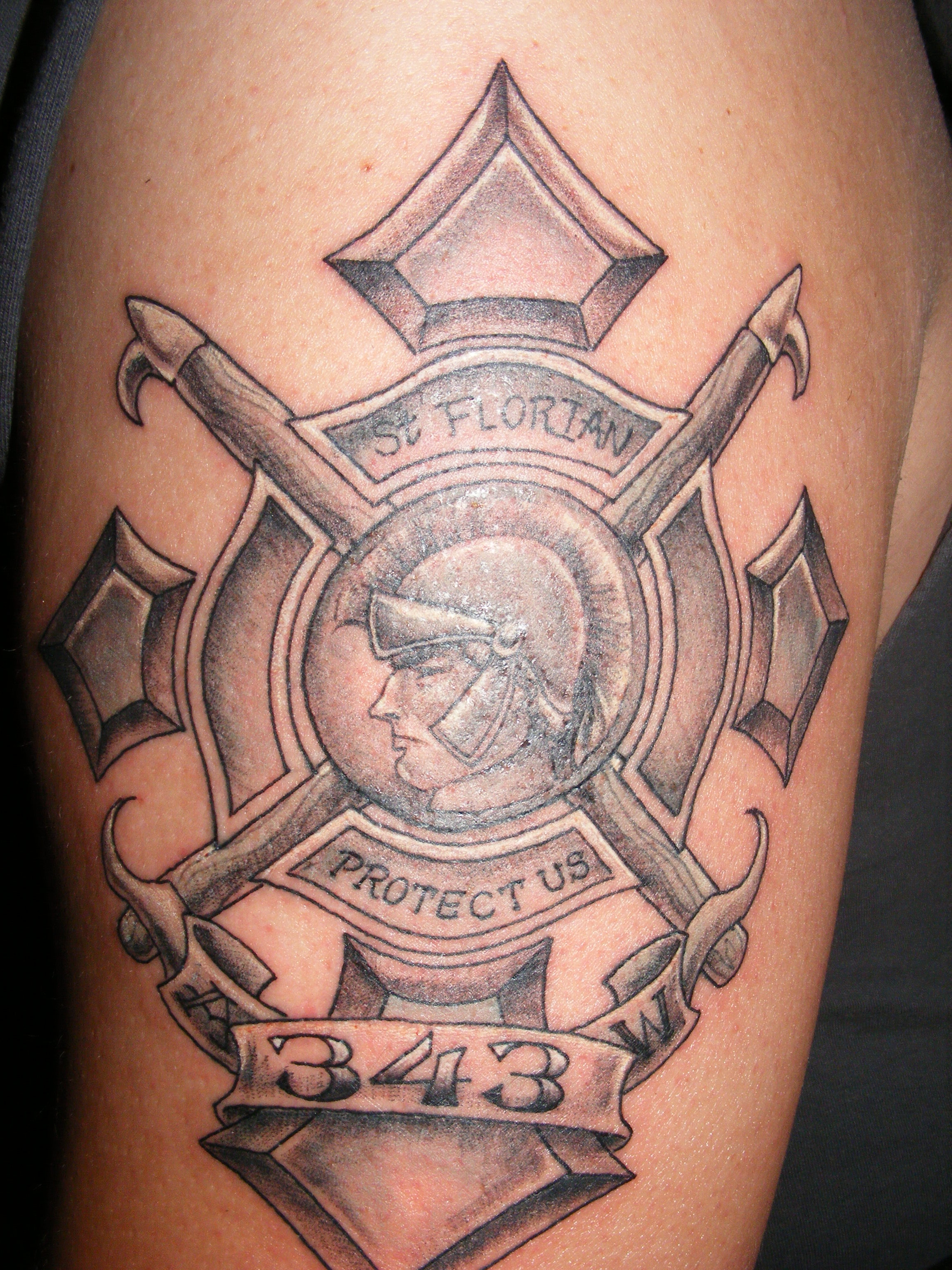 firefighter tattoos photo - 15