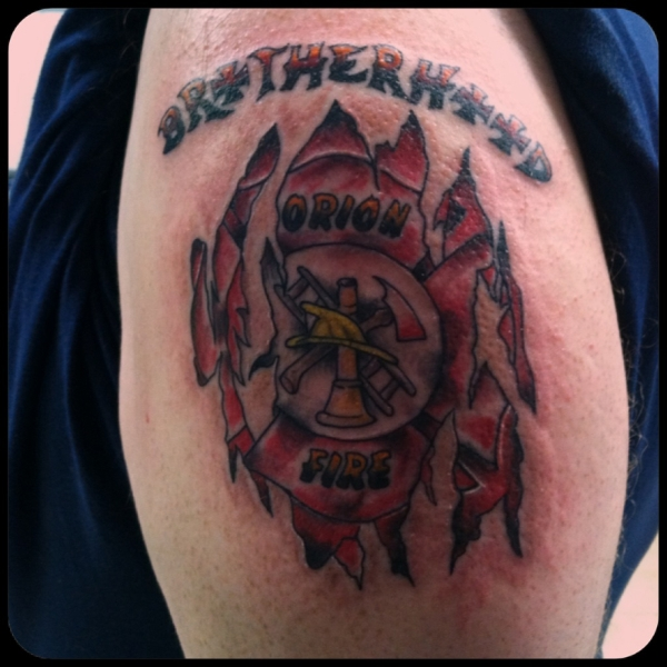 firefighter tattoos photo - 16