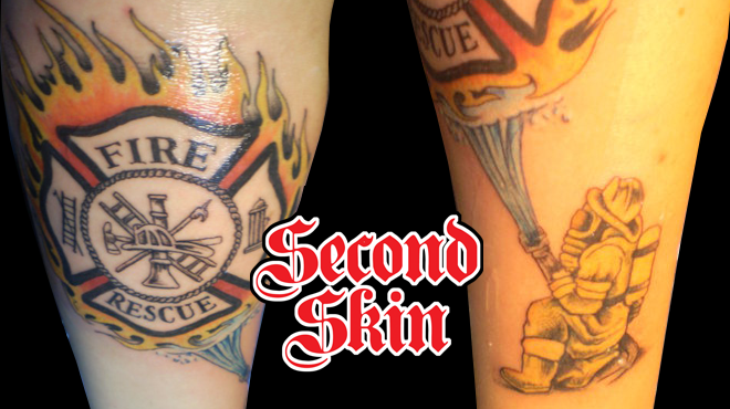 firefighter tattoos photo - 17