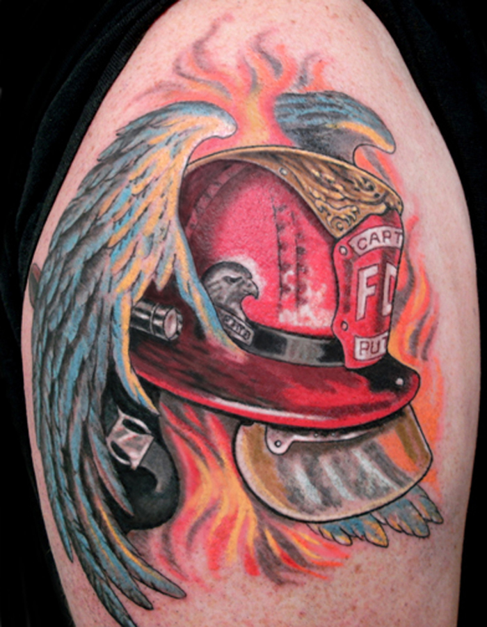firefighter tattoos photo - 19