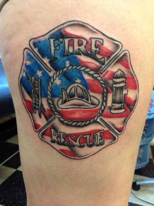 firefighter tattoos photo - 22