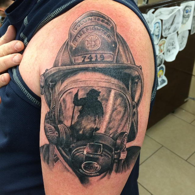 firefighter tattoos photo - 23