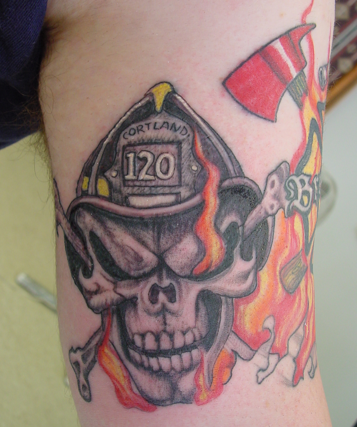 firefighter tattoos photo - 24
