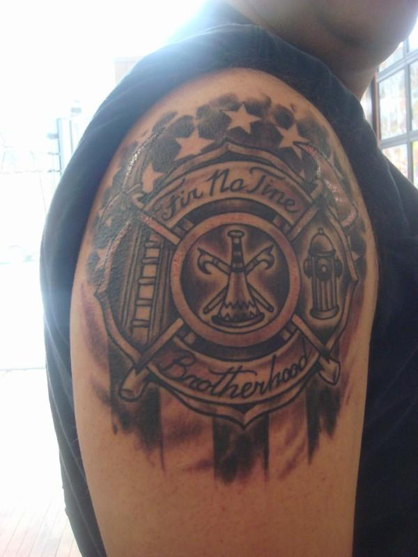 firefighter tattoos photo - 26
