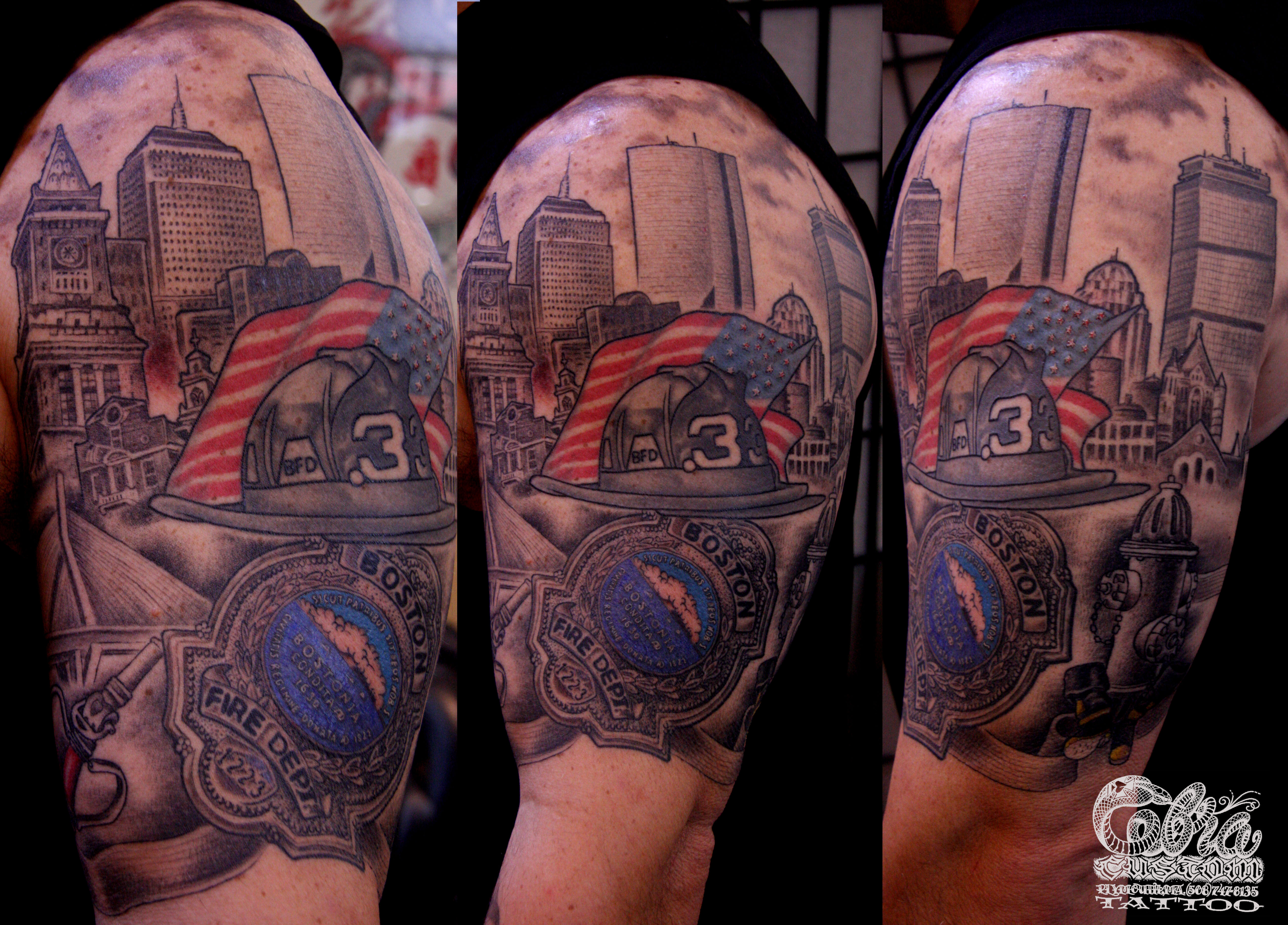 firefighter tattoos photo - 27
