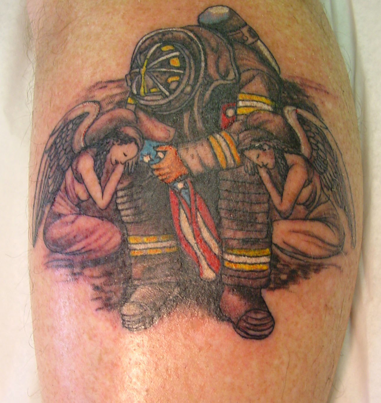 firefighter tattoos photo - 3