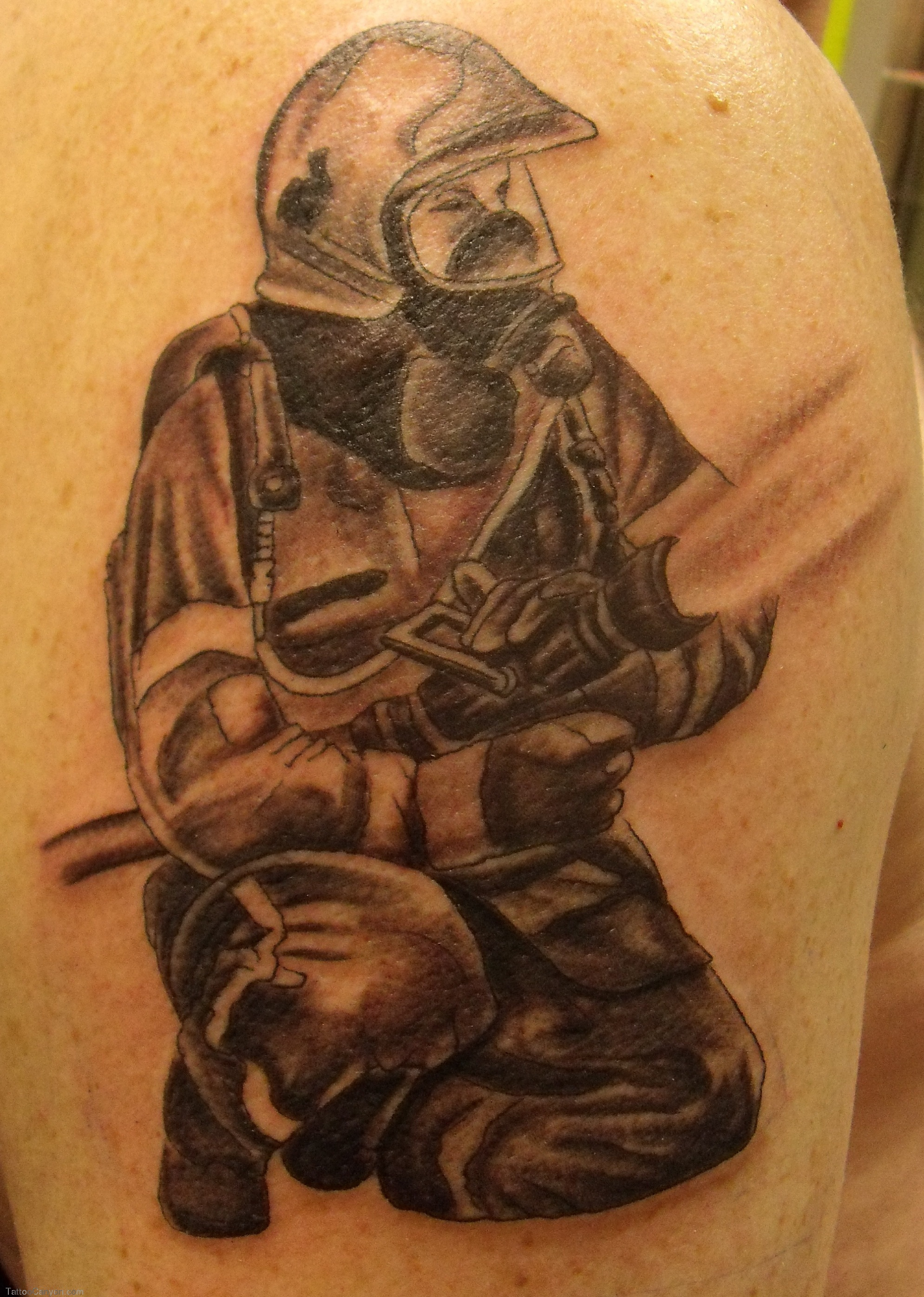 firefighter tattoos photo - 4
